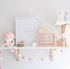 Such a beautiful shelf space with our little belle fairy mushroom light #australianmushroomlight #littlebelle #fairylight #girlsnightlight #girlslamp #toadstool