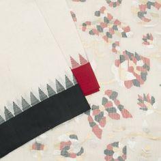 Shilpi Handwoven Khadi Cotton Sari 100093
