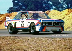 Brian Redman and Allan Moffat drove this factory BMW 3.0 CSL to an overall win at Sebring in 1975.