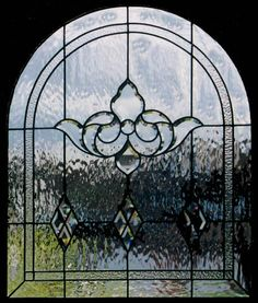 This without leading for master bedroom window on south side. Stained Glass Door, Leaded Glass Windows, Stained Glass Designs, Cut Glass, Clear Glass, Church Windows, Bedroom Windows, Beveled Glass, Contemporary