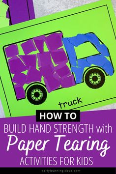 Tearing Paper Activities: This is How to Improve Fine Motor Skills