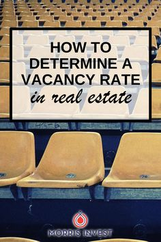 There are 3 main factors that affect a vacancy rate. It is necessary to understand vacancy rates when you are buying a rental property.