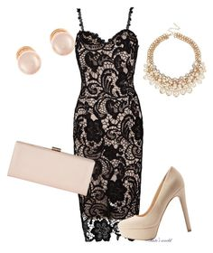 """dress1920"" by k-meszaros on Polyvore featuring Qupid, Phase Eight and Kenneth Jay Lane"