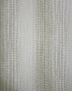 Kintail Wallpaper An undulating snakeskin effect wallpaper highlighted with reflective raised beading in ivory.