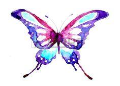 borboletas em aquarela - Pesquisa Google