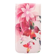 Red Flower PU Leather Full Body Case for Samsung Galaxy S5 I9600 (Assorted Colors)  – EUR € 8.99