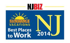 Sundance Vacations Parsippany NJ Office Ranks as the 12th Best Place to Work in New Jersey