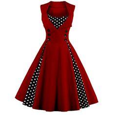 Olddnew Plus Size 50s Elegant Women's Vintage Dress Swing... https://www.amazon.com/dp/B06XK3GYSN/ref=cm_sw_r_pi_dp_U_x_sWZKAb9DRQRK2