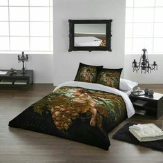Gothic Bed Fantasy Double Beds Spreads Mystic Wild Star Duvet Bedding Sets Alchemy Full