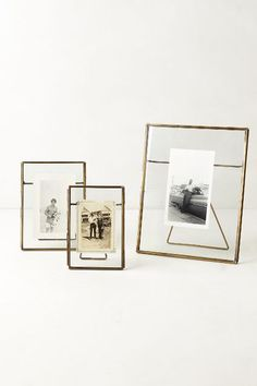 Pressed Glass Photo Frame #anthrofave