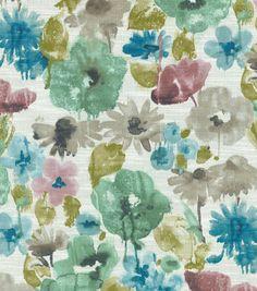 Swavelle Mill Creek Home Decor Print Fabric-Misty