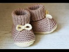 For the little ones knitting bootees with knitting needles two workshops bootees knitting needles workshops allesfunny – Artofit Simple booties, connected on 2 needles (except for gum).Very Easy Baby Booties. Baby Booties Free Pattern, Crochet Baby Shoes, Crochet Baby Booties, Diy Crochet, Baby Knitting Patterns, Free Baby Blanket Patterns, Crochet Blanket Patterns, Easy Knitting, Knitting Needles