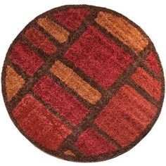 Orian Rugs Moodie Blues Rouge 7 ft. 10 in. Round Area Rug - 238600 - The Home Depot
