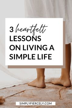 Do you ever wonder how to live a simpler life? Are you craving a slower, gentler way of living? Me too—in fact, I've spent the last decade simplifying my life. Here are 3 heartfelt lessons I've learned about what it means to live the simple life. #simpleliving Minimalist Closet, Minimalist Home, Slow Living, Mindful Living, Simple Living, Minimalist Lifestyle, Declutter, My Life, Live