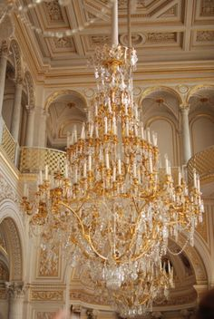 Baroque Interior - Let There Be Light Antique Chandelier, Chandelier Lighting, Luz Artificial, Elegant Chandeliers, Crystal Chandeliers, Lampe Led, Light Up, Light Style, Lighting Design
