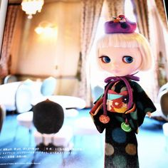 Japanese Style Doll Coordinate Recipe - Kimino Blythe Doll