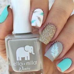 88 Best Nail Art Nails! View them all right here -> | www.nailmypolish.... | Nail My Polish