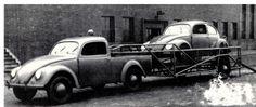"""One off"" basado en un VW typ 82E, probablemente construido por Schwen. Wolfsburg. c1947"
