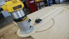 This is Pt 2 of a two part series that is a follow up to my popular circle cutting router jig video I posted several months ago. In this video, I have greatl...