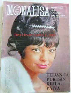 ANNELI SAULI (Finnish actress) - Monalisa no 9 1966 kannessa Anneli Sauli.