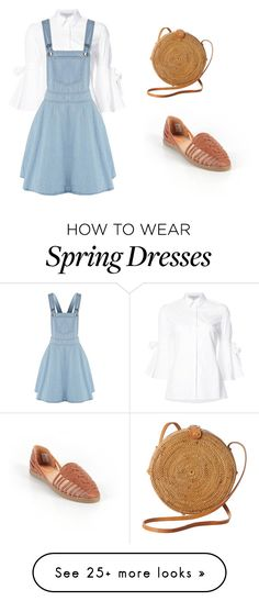 """Spring #2"" by kissmeunderthemoonlight on Polyvore featuring Carolina Herrera, Rocket Dog and Faithfull"
