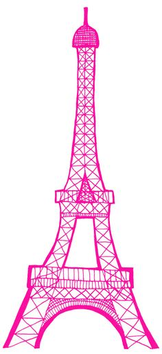 Eiffel Tower Stencil