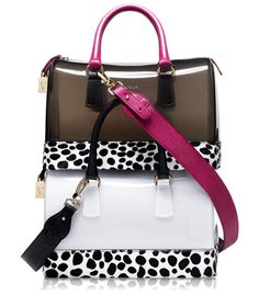 Furla Cheetah Ponyhair Candy Collection