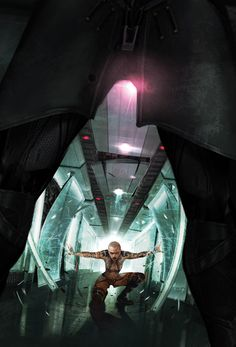 Mass Effect: Foundation #7 Cover Artwork by Benjamin Carré