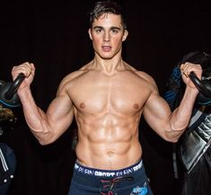 Pietro Boselli in the Backstages of the Philipp Plein Sport Show, on January at the Fall Winter Milan Mens Fashion Week for Hero Magazine Online - January 2017 Mr Goodlife, Pietro Boselli, Milan Men's Fashion Week, Le Male, Most Beautiful Man, Male Body, Girl Pictures, Sexy Men, Hot Men