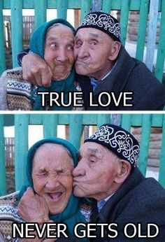 True love never gets old !