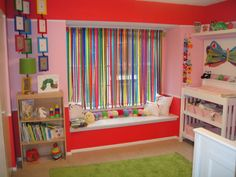 Hungry Caterpillar Rainbow nursery.. I LOVE IT!