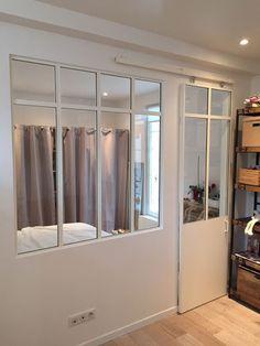 Cloison vitr e sur pinterest cloison verrieres et verri re - Cloison amovible appartement ...