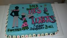 Father Daughter Ball I like the ties and tiera idea