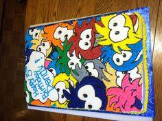 Club Penguin Puffle cake