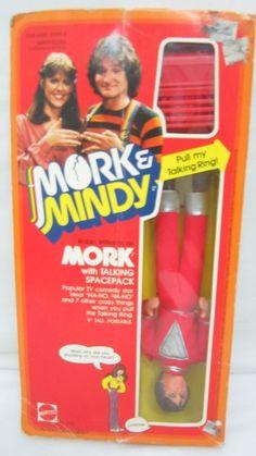 Mork And Mindy Robin Williams Talking Doll Mattel 1979