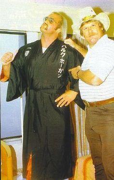 The Immortal Hollywood Hulk Hogan and Stan the Lariat Hansen. Bruiser Brody, Japanese Wrestling, Vince Mcmahon, Wrestling Superstars, Hulk Hogan, Incredible Hulk, Professional Wrestling, Hollywood, Hero