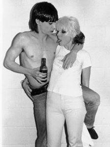"""Reminds me of CBGB'S, Iggy Pop, with Debbie Harry, aka. """"Blondie"""""""