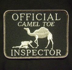 OFFICIAL CAMEL TOE INSPECTOR TACTICAL USA ARMY MORALE MILITARY SWAT VELCRO PATCH in Collectibles, Militaria, Current Militaria (2001-Now) | eBay