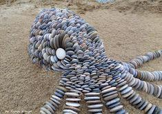 Pebble art-stone art from Hungary  by tamas kanya