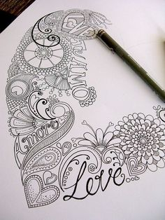 40 Beautiful Doodle Art Ideas