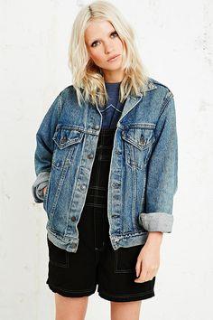 Vintage Renewal Levi's Denim Jacket in Blue