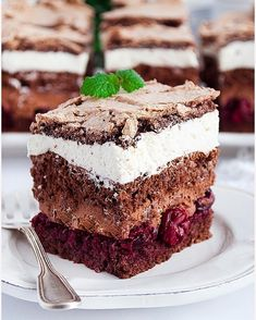 Rafaello na krakersach - I Love Bake Food Cakes, Fancy Cakes, Tiramisu, Panna Cotta, Cake Recipes, Oreo, Baking, Ethnic Recipes, Desserts