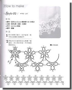 Tatting edging
