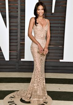 Chanel Iman Vanity Fair After Party 2015