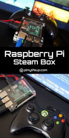 You can turn the Raspberry Pi into a steam box by installing some software on the Pi and a gaming PC. You will need to have an Nvidia graphics card in the gaming PC for it to work correctly.