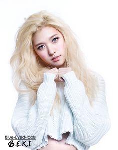 BLUE EYED K-POP IDOLS: #102  Song Juhee (Alice) - Hello Venus