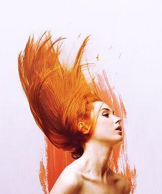 "Karen Gillan (""the orangey one"" according to the TARDIS)"