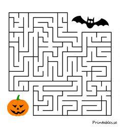 Halloween Decorations For Kids, Halloween Activities For Kids, Fun Activities To Do, Halloween Crafts For Kids, Diy Crafts For Kids Easy, Mazes For Kids, Halloween Cross Stitches, Decor Crafts, Creations