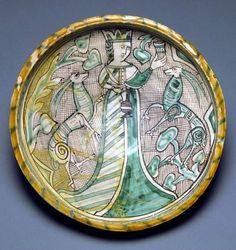 Medieval Majolica, XIII-XIV s. Italy