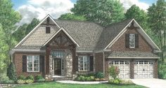 32 Exterior Paint Colors With Brown Brick - decortip